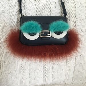 Authentic Fendi Micro Baguette-Brand New with Tags